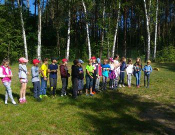 Klasa 3s Szkoły Podstawowej 234 w Schronisku Pogorzelc