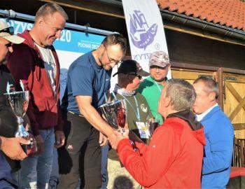 Sukces naszych kolegów w zawodach na jeziorze Orzysz